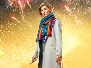 Jodie Whittaker plays the Doctor