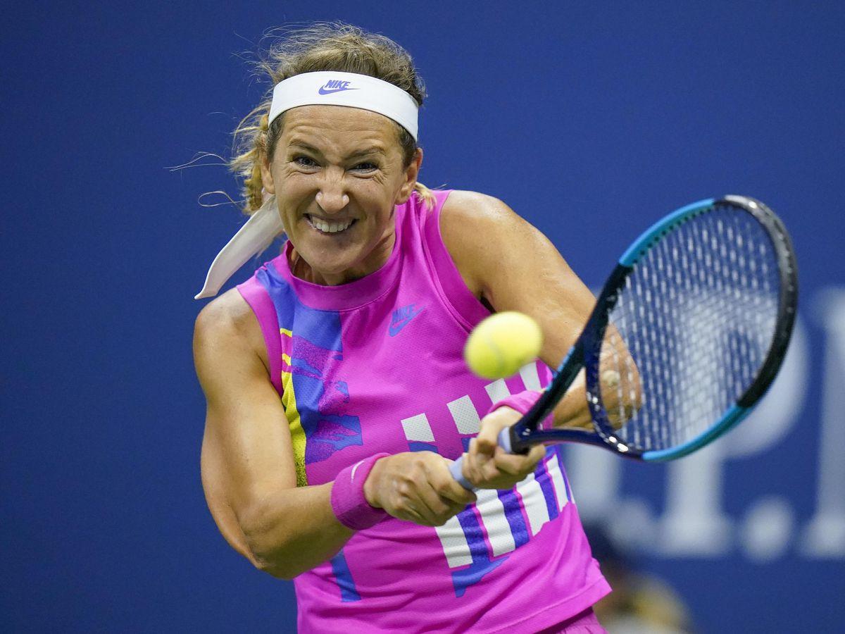 Victoria Azarenka powered her way into the US Open final