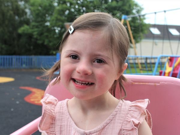 Amelia Thompson is all smiles now