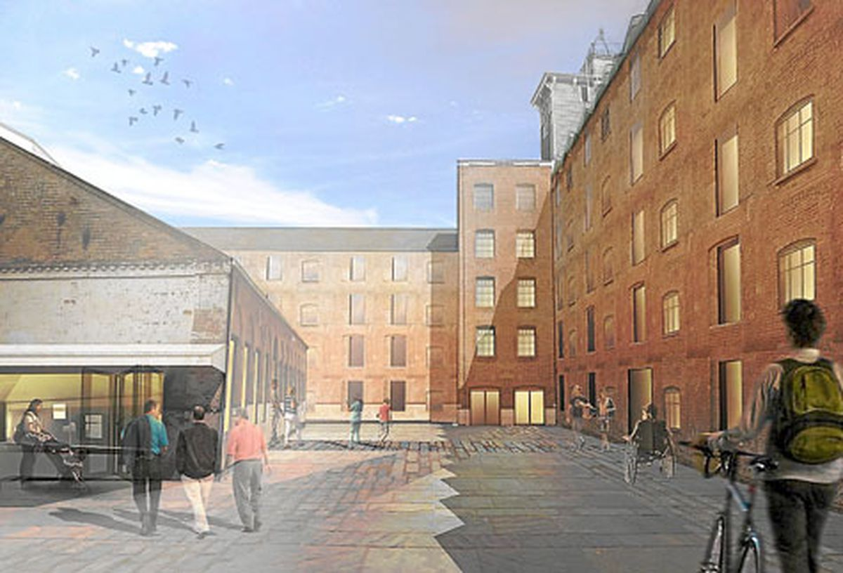 First glimpse of how Shrewsbury's Flax Mill could look