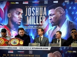 Joshua set for new opponent as Hearn claims Miller has failed second doping test