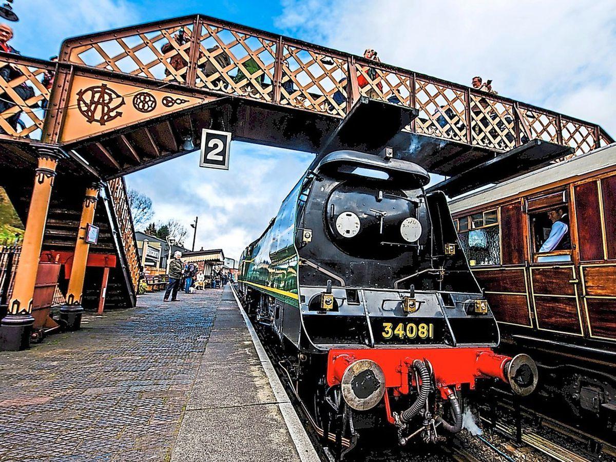 Severn Valley Railway's Bridgnorth station