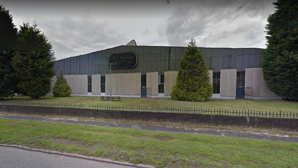 Brintons Carpets headquarters in Stourport Road, Kidderminster
