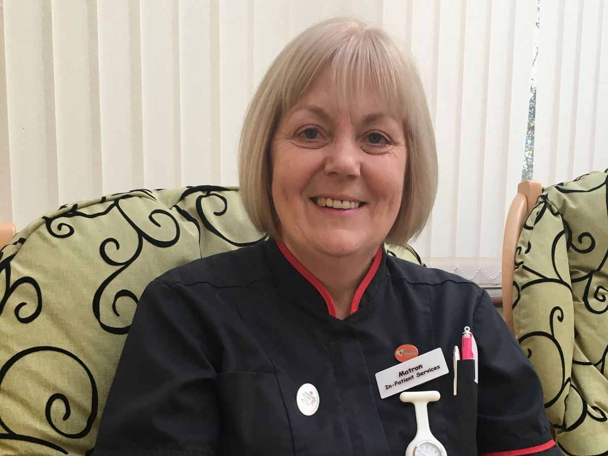 Helen Duce will be stepping down from her role as Matron of Inpatient Services on New Year's Eve