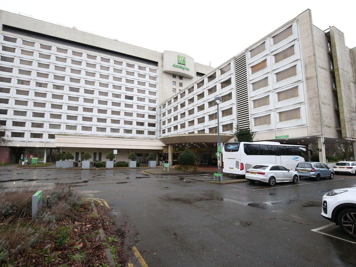 The Holiday Inn hotel near Heathrow Airport