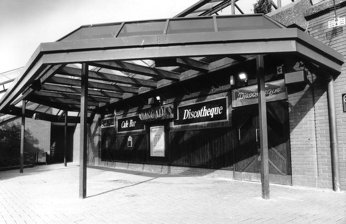 Cascades was hailed as Telford centre's first nightclub.