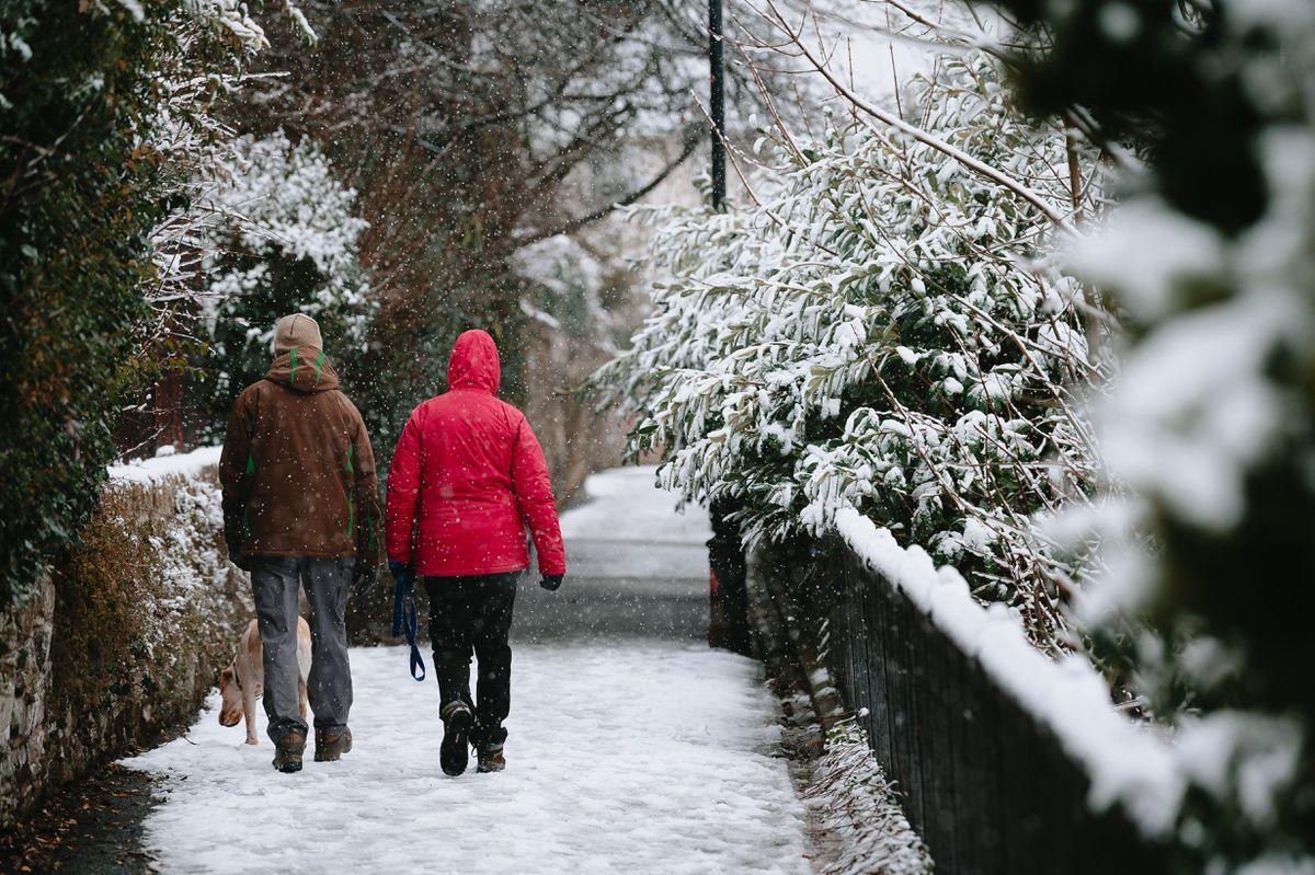 Snow in Bridgnorth
