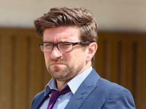 Daniel Lees leaving Liverpool Crown Court