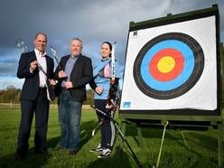 Sponsors help Shropshire archer to aim high