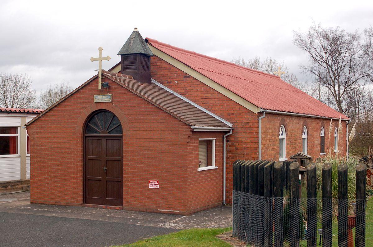 One of Telford's two Serbian Orthodox churches, both dedicated to St Nicholas.