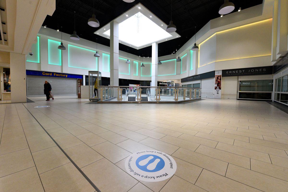 Regenerating Shrewsbury's shopping centres will create hundreds of jobs, the Conservatives say