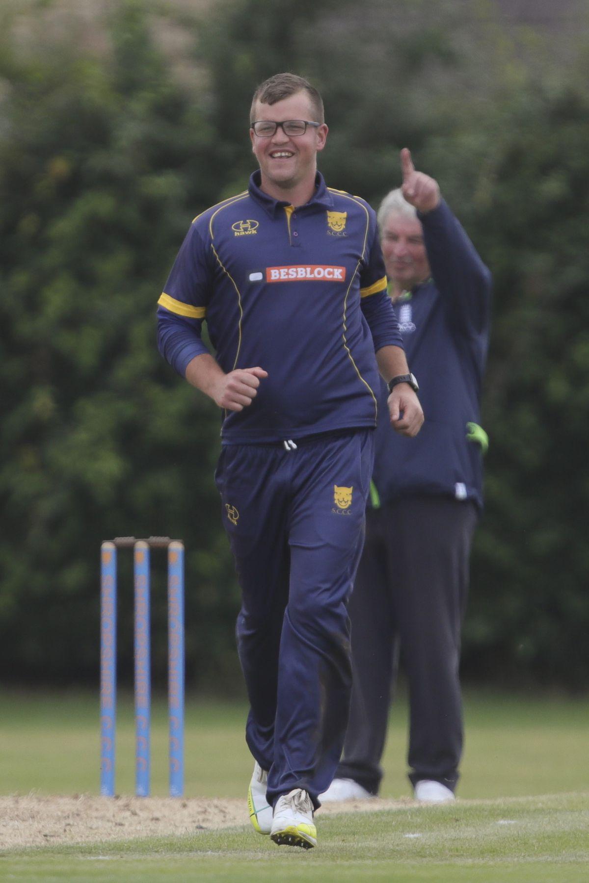 Sam Whitney of Shropshire.