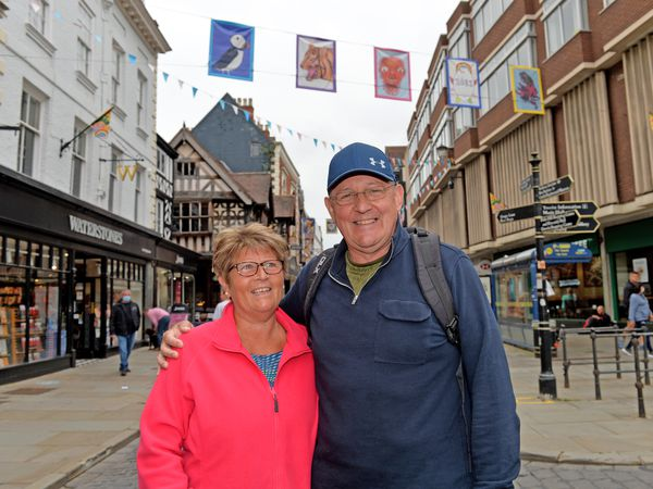 Robert and Jane Blair, Shrewsbury residents who live near the Ellesmere Road outside of town, said the idea would suit Shrewsbury