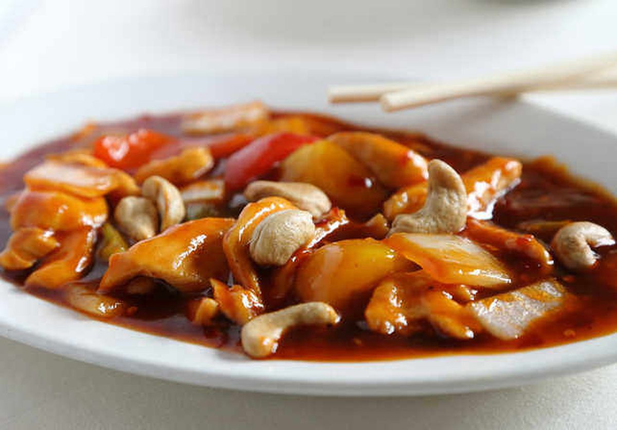 Packing a punch – the Kung Po chicken had lots of flavour
