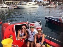 Atlantic Ladies team of rowers 412 miles into journey