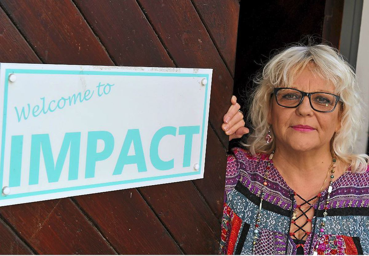 Linda Moore is a counsellor at Impact in Madeley