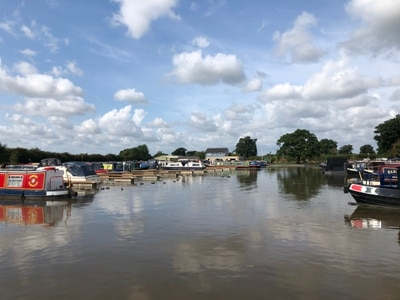Marina open day in Shropshire