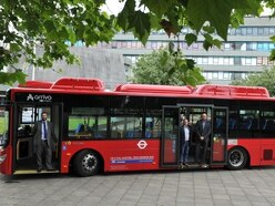 First electric bus pulls in to Shropshire