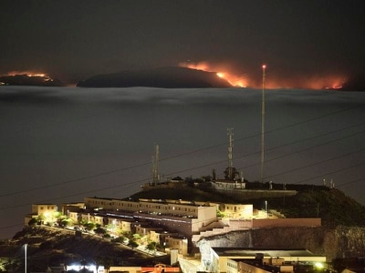 Thousands forced to evacuate amid wildfire on Gran Canaria