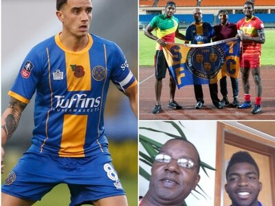 Grenada's love for Shrewsbury Town is a Caribbean fairytale