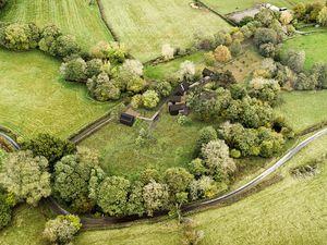 Aerial view of Rheabridge