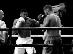 Watch: Telford boxer Joe, 27, is a knockout with Anthony Joshua
