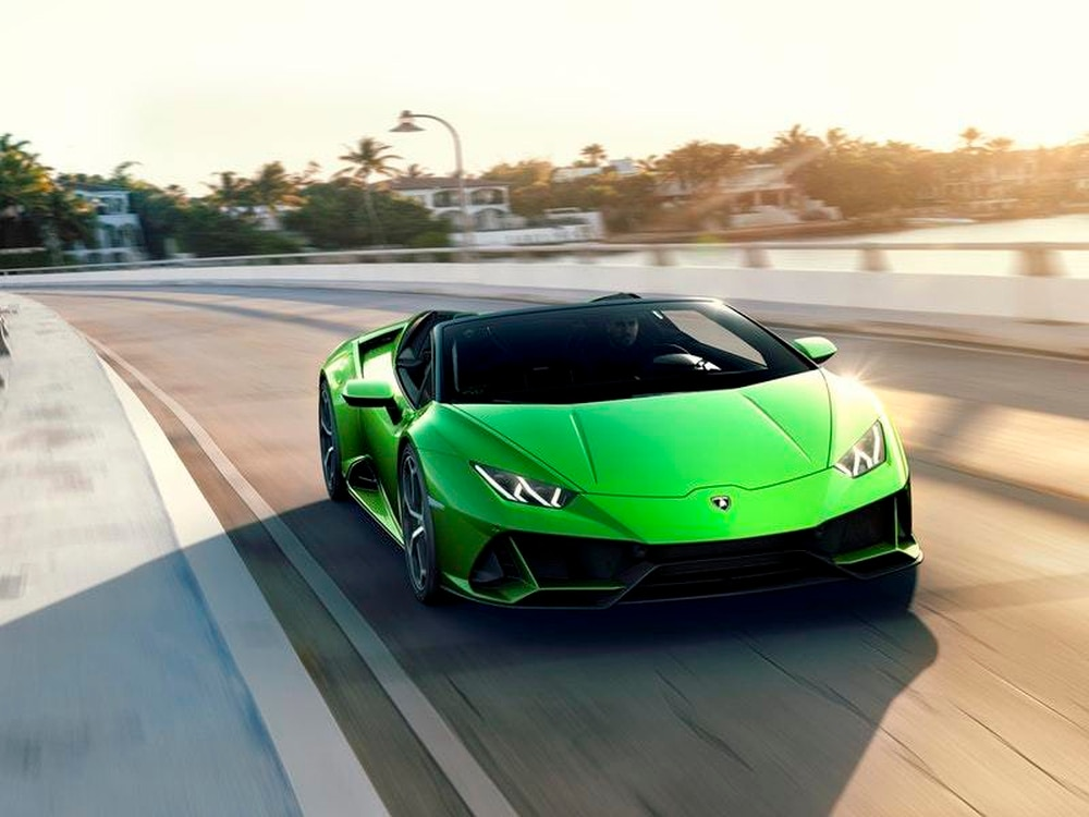 Lamborghini Lifts The Lid On Huracan Evo Spyder Shropshire Star