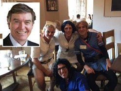 Ludlow Bed Push drag nurses row: MP Philip Dunne calls for U-turn over £2,500 raised
