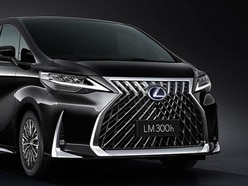 Lexus' spindle grille goes supersize for new LM minivan