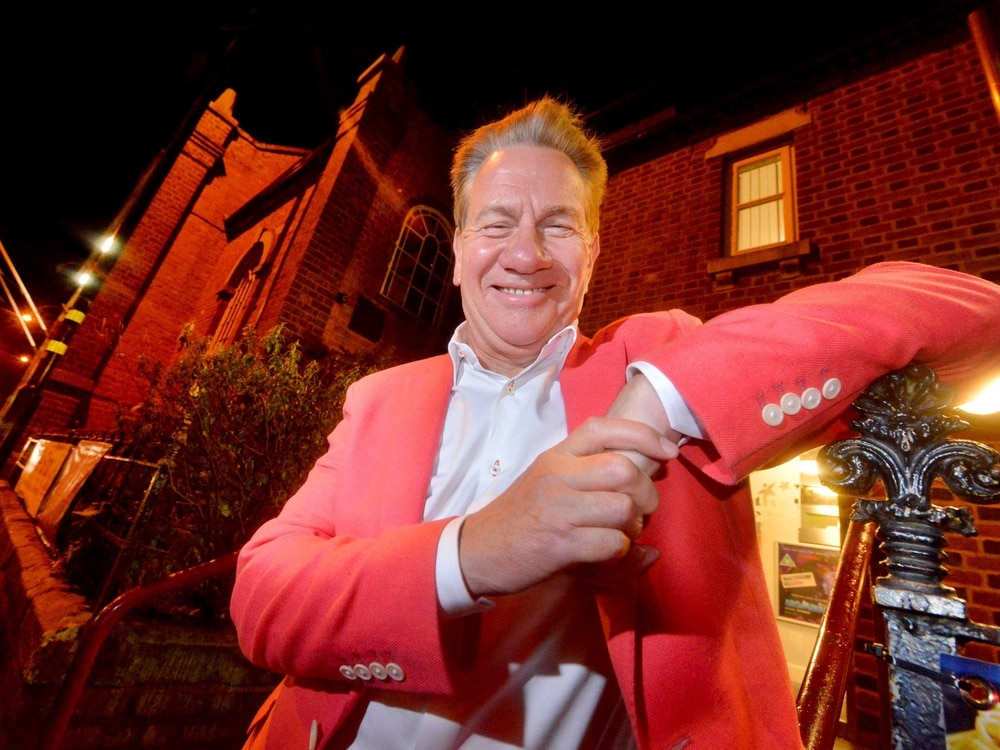 A chuffing good time in Market Drayton with train fan Michael Portillo - with video