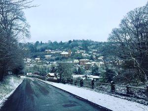 Snowy scenes between Broseley and Ironbridge. Pic: Daniel Enquist