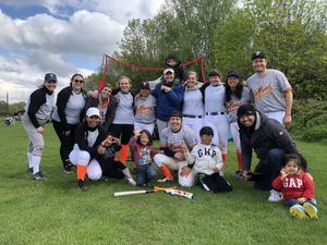 Telford 26ers baseball team - part of Telford Giants Baseball Club - played in their first ever matches in May 2021