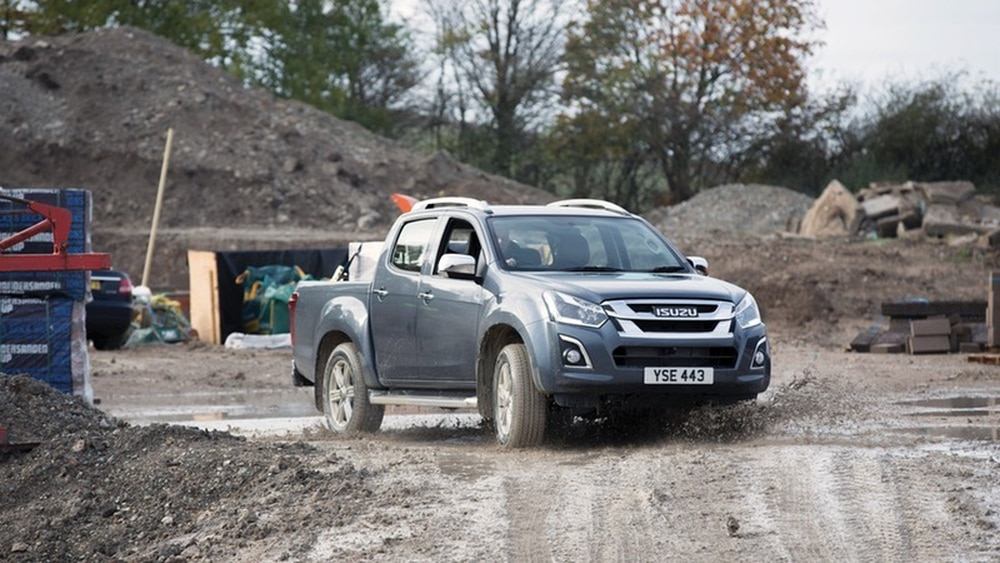 The Isuzu D-Max is a practical workhorse, but doesn't really