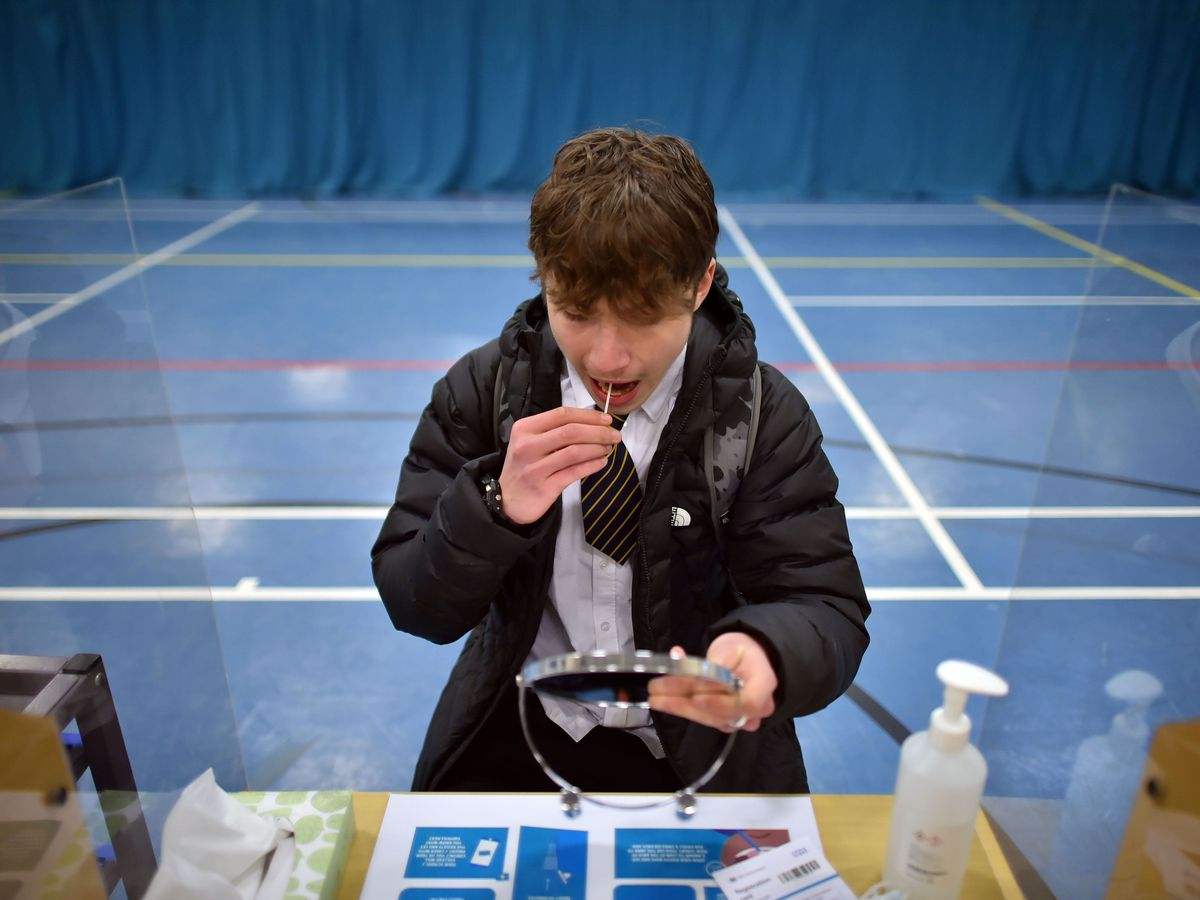 Pupils have been urged to get tested upon their return from the half-term break