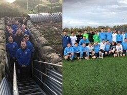 English team win rematch against twin town in recreation of 1914 Christmas truce