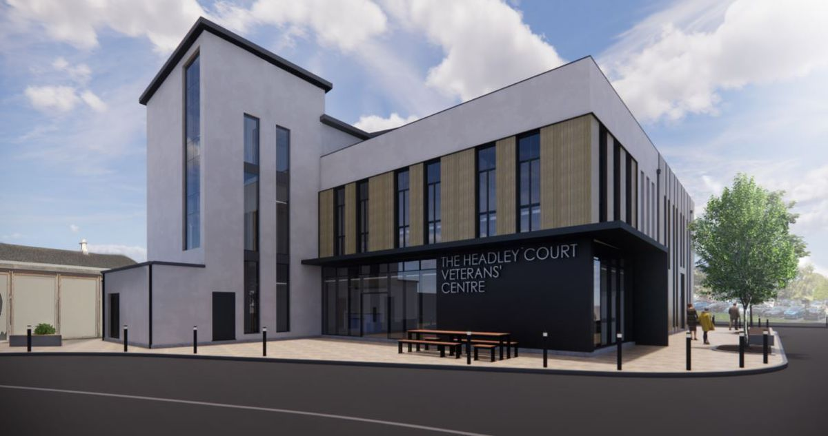 How the Headley Court Veterans' Centre could look.