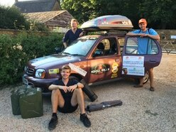 Mongolia rally challenge for Shropshire trio - and a 17-year-old Nissan Micra