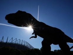 Watch the dinosaur-filled half-time show taking social media by storm