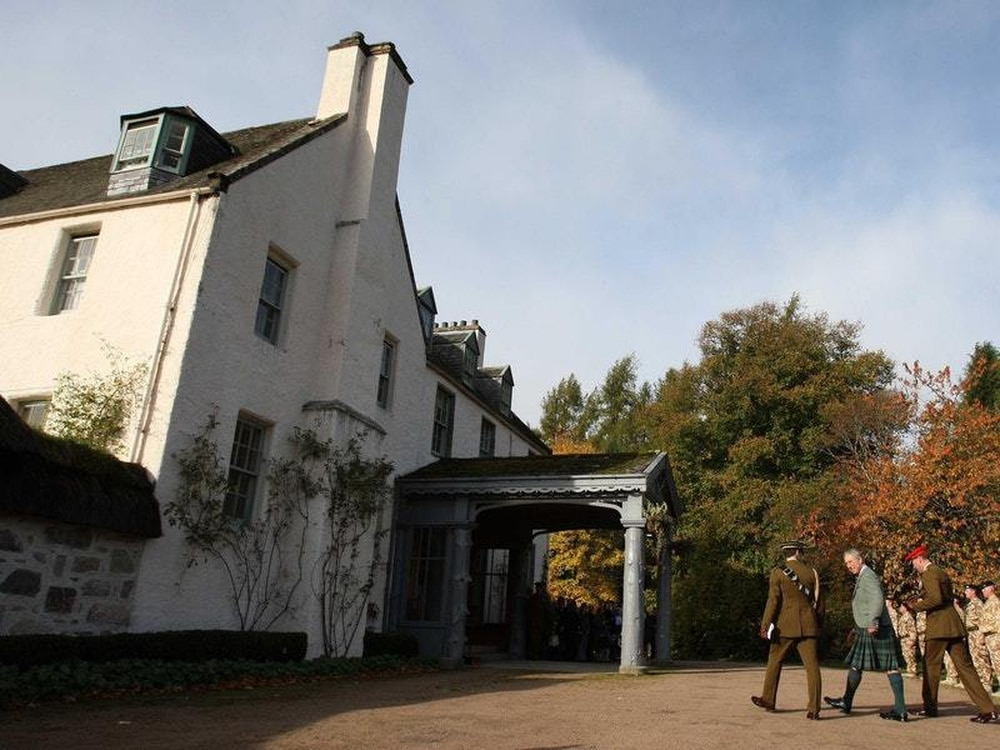 Charles and Camilla's beloved Birkhall hideaway