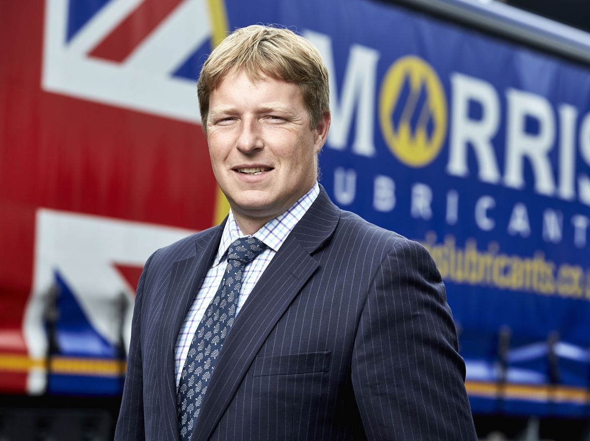 Andrew Goddard, executive chairman of Morris Lubricants