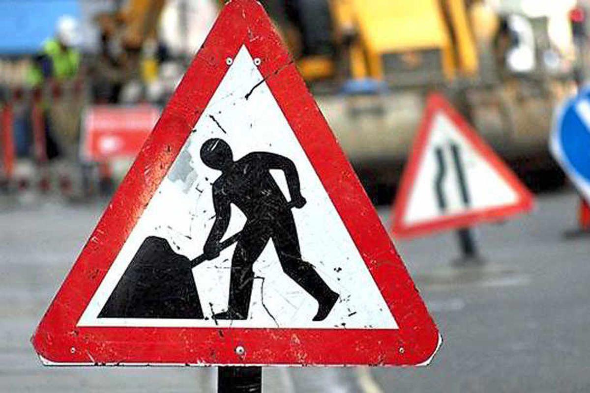 Traffic misery for Shrewsbury motorists during roadworks
