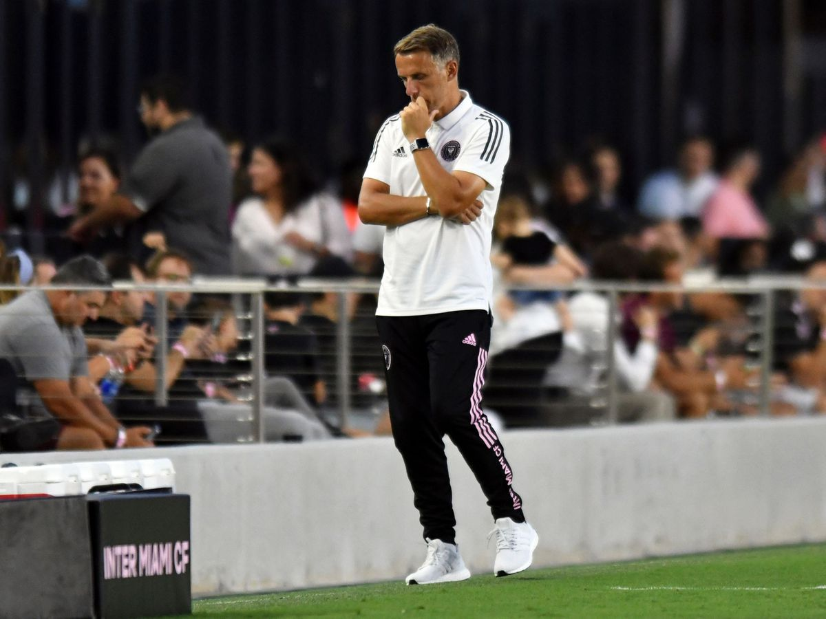 Phil Neville has endured a miserable start as Inter Miami coach