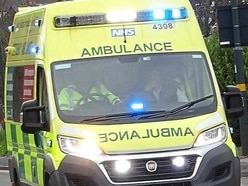 Man taken to hospital after bicycle and car crash in Chirk