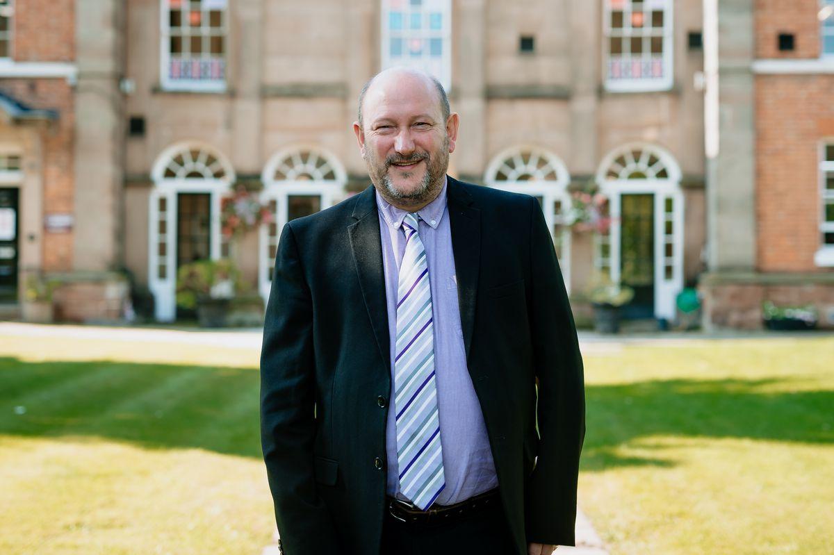 Donald Fear at Haberdashers' Adams Grammar School in Newport