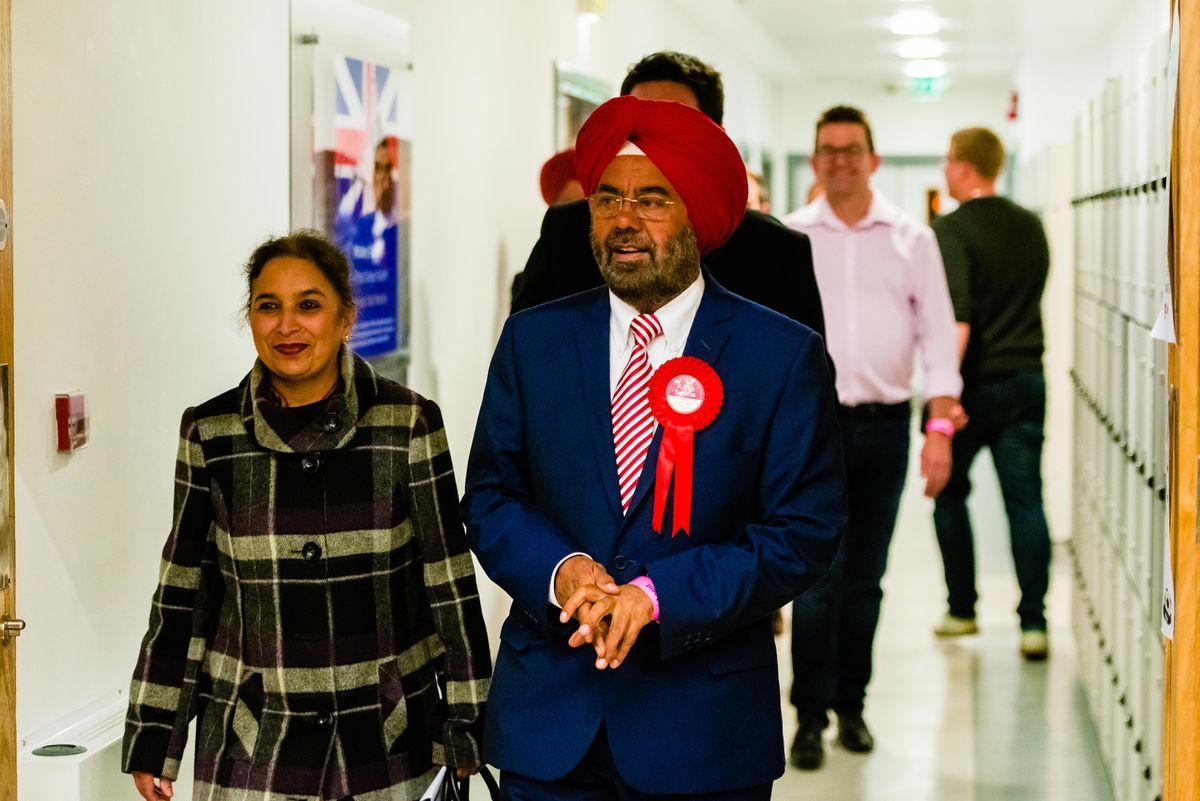 Labour candidate Kuldip Sahota