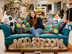NORTH COPYRIGHT SHROPSHIRE STAR JAMIE RICKETTS 17/03/2021 - Moo & Boom - A new lifestyle and wellbeing business has opened in Whitchurch. In Picture: Owner Maddie Ashbrook..