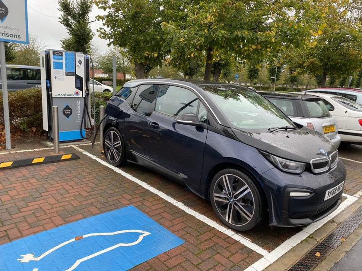 Charging the i3 is a remarkably simple process
