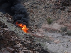 Helicopter was spinning before Grand Canyon crash, report says