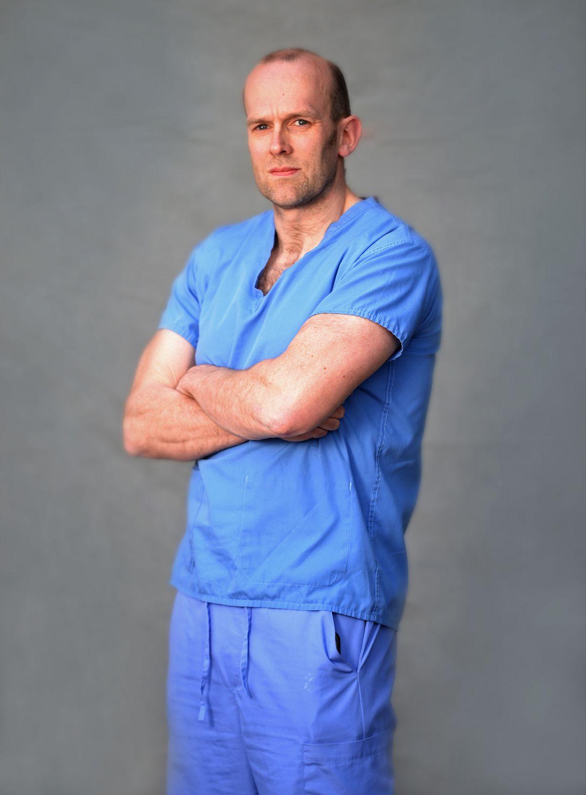 Gordon Wood, respiratory consultant
