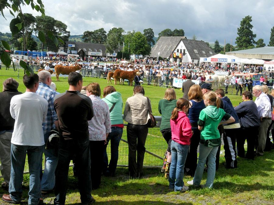 Crowds at a previous Royal Welsh Show